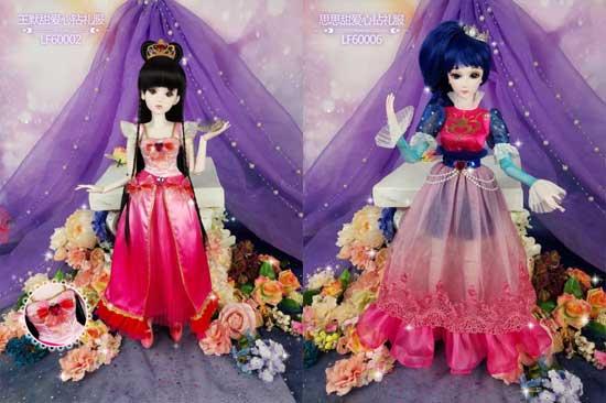 叶罗丽娃娃 叶罗丽第六季同款礼服娃娃发布图片