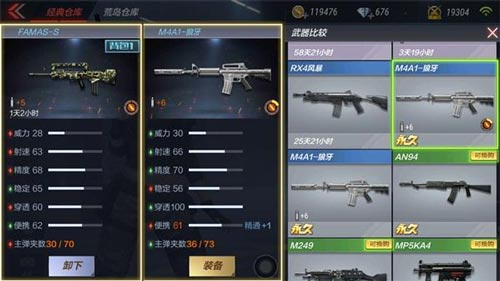 CF手游FAMAS-S6