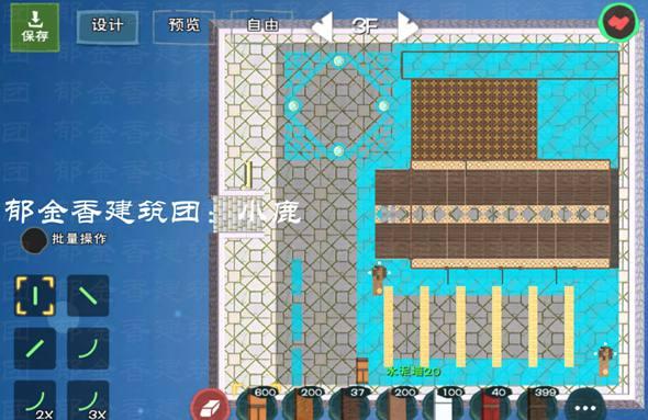 12级城堡平面设计图纸 创造与魔法玻璃城堡设计图 玻璃城堡平面设计