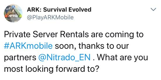 方舟生存进化私人服务器