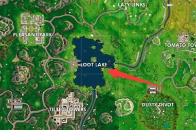 堡垒之夜手游战利湖已改名 后续还会有变化