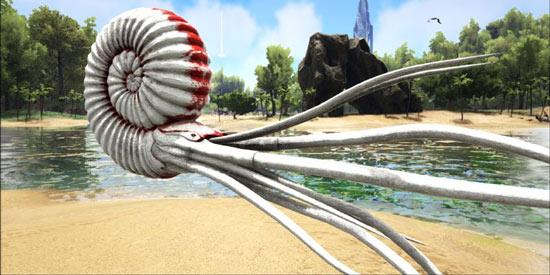 方舟生存进化菊石粘液使用方法