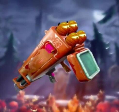 堡垒之夜手游南瓜发射器将重新回归 老玩家才知道的武器!