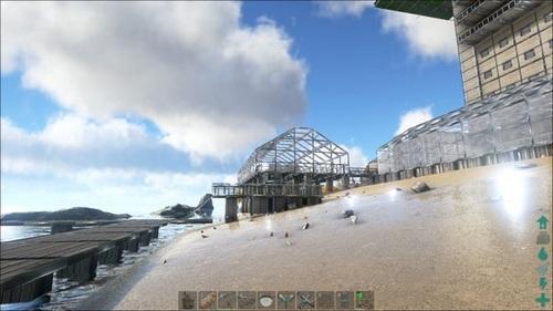 方舟生存进化建筑作品欣赏
