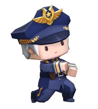 迷你世界巡游警长装扮