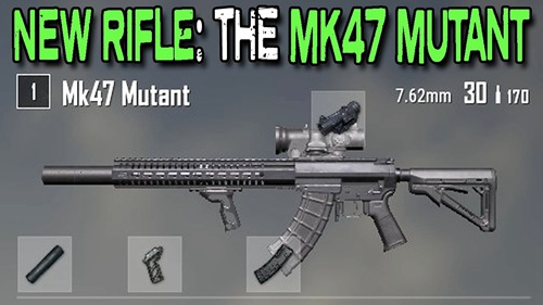 绝地求生刺激战场MK47