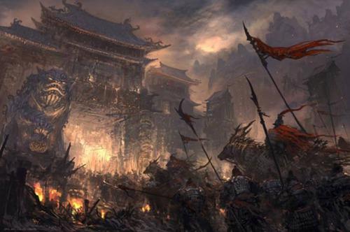 黑云压城城欲摧