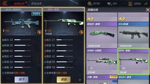 CF手游MG4-蓝色骑士5