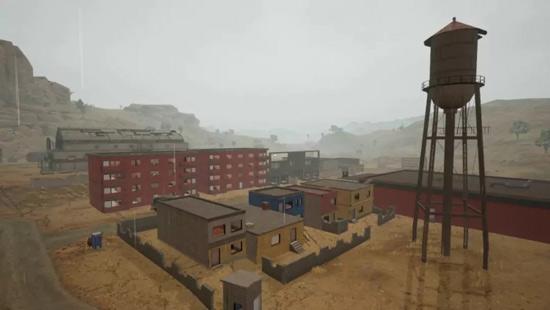刺激战场沙漠雨天