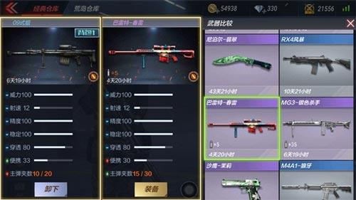 CF手游武器评测5