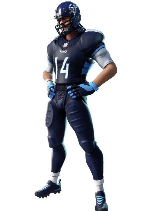堡垒之夜与NFL达成合作 一个皮肤自带32套服装