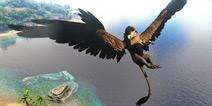 方舟生存进化狮鹫或将出现于孤岛 来自方舟手游官方的一则消息