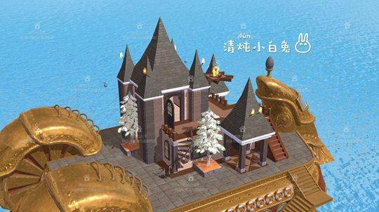 东篱居建筑平面设计图纸 创造与魔法知秋别墅建筑设计图 知秋别墅建筑
