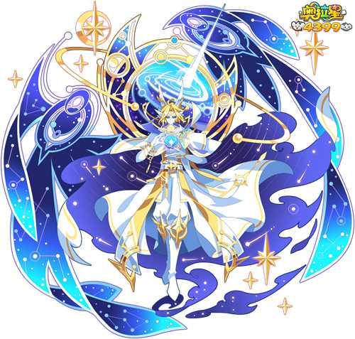奥拉星星现万物智慧王图片,奥拉星星现万物智慧王高清大图