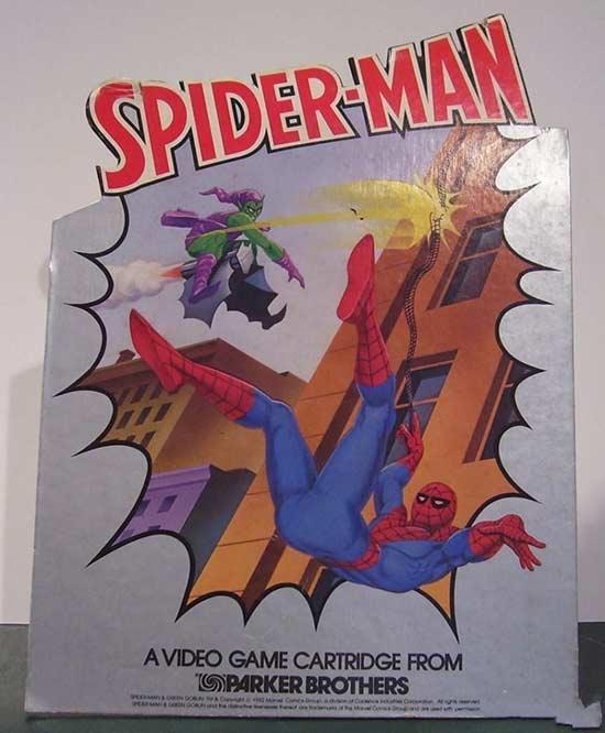 雅达利2600《蜘蛛侠》