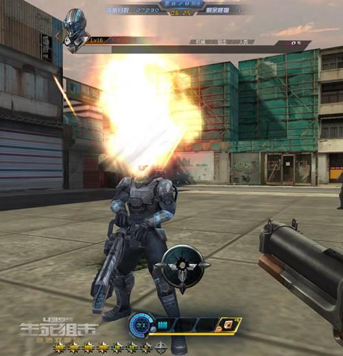 生死狙击游戏截图-真·爆头