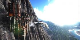 方舟生存进化悬壁平台曝光 悬崖建家不是梦