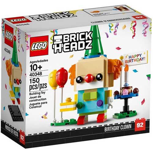 LEGO 40348 乐高生日小丑方头仔玩具