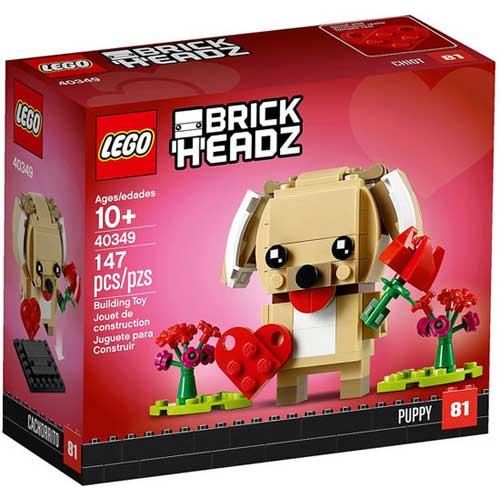 LEGO 40349 乐高小狗方头仔玩具