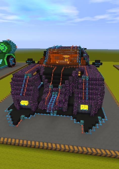 迷你世界創造存檔:十二星座超級跑車 好玩存檔分享