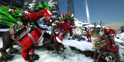 方舟生存进化圣诞bgm 一首有节日气氛的小调