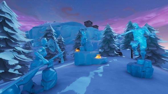 堡垒之夜v7.0地图改动 新地点新雪山新变化