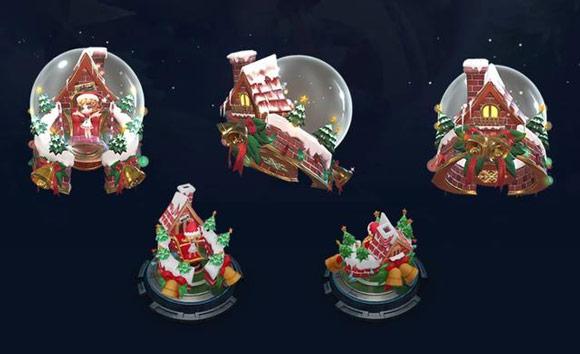 王者荣耀蔡文姬奇迹圣诞技能效果展示 圣诞皮肤即将上线