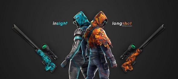 堡垒之夜玩家创造彩虹小马同款武器皮肤