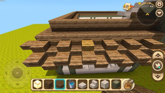 迷你世界古风庭院围墙建造教程