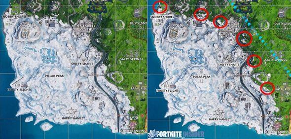堡垒之夜冰雪蔓延 冰雪地区正在慢慢扩大
