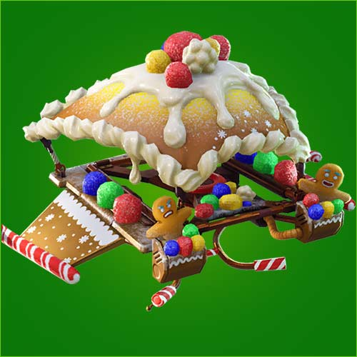 堡垒之夜手游姜饼降落伞怎么得 姜饼滑翔伞介绍
