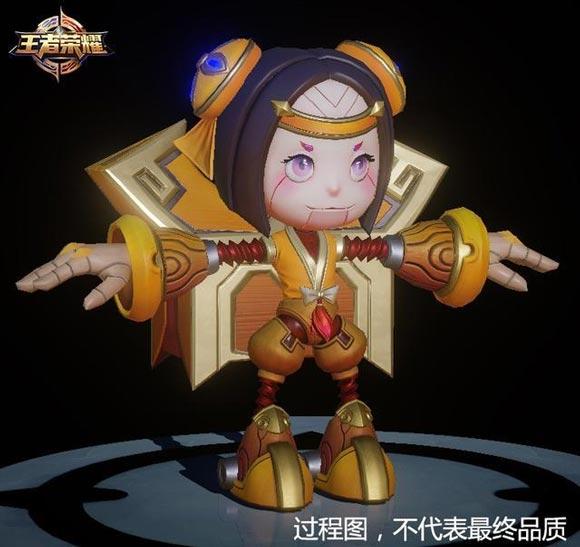 王者荣耀鲁班七号新模型曝光 嫦娥头像框上线