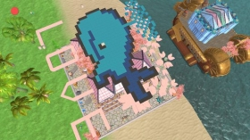 创造与魔法鲸鱼小屋设计图 鲸鱼小屋建筑平面设计图纸