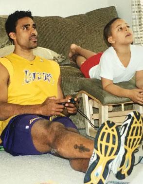 里克·福克斯和他儿子