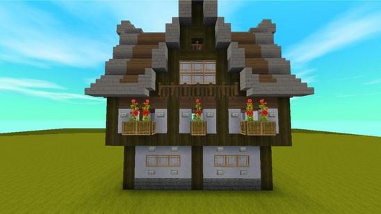 迷你世界中世纪建筑教程