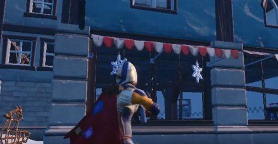 堡垒之夜雪花装饰地点分布