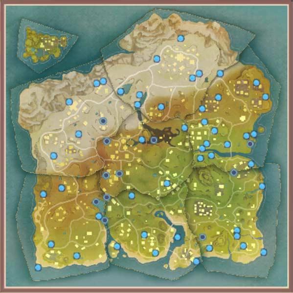 风云岛行动蓝色宝箱在哪里 风云岛行动找宝藏我行蓝色宝箱汇总