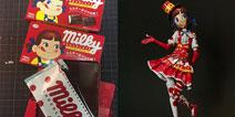 「跪着看完系列」日本手工帝用巧克力包装纸做出精美到爆炸的模型