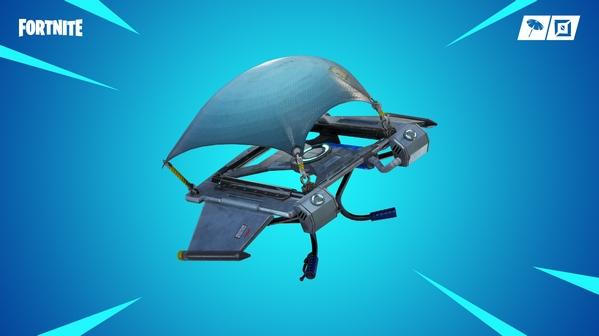堡垒之夜V7.20版本更新 新副武器滑翔伞重新部署
