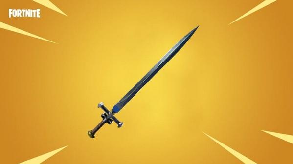 堡垒之夜全新神话武器 中世纪长剑曝光