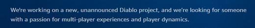 《暗黑4》真的在开发?暴雪大规模招聘《暗黑破坏神》新项目岗位