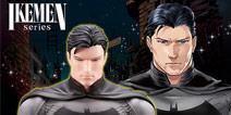 脱下面具的蝙蝠侠周边,这是开了美颜滤镜?
