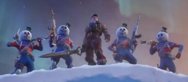 堡垒之夜冰与火的决斗 二五仔引发的血案?
