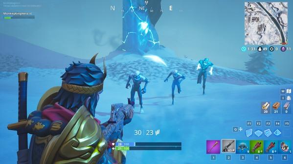 堡垒之夜冰雪肆虐的真相 竟是二五仔引发的血案?