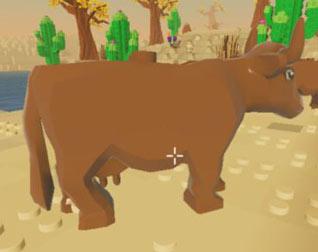 乐高无限怎么驯服牛 牛一般在哪