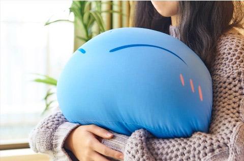 """拿史莱姆做靠垫是种怎样的体验 """"最萌的吉祥物""""推周边啦"""