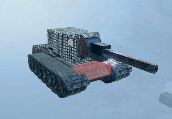 我的战舰坦克