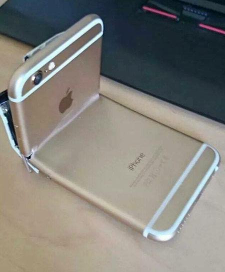 iphone被坐弯