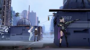 多人协力3D动作射击《Fight Lass 恙化装甲》
