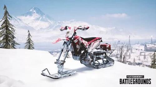 轻型雪地摩托